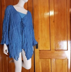 Women's Studio 1940 Blue Fashion blouse